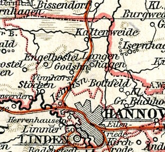 Amt Hannover 1892